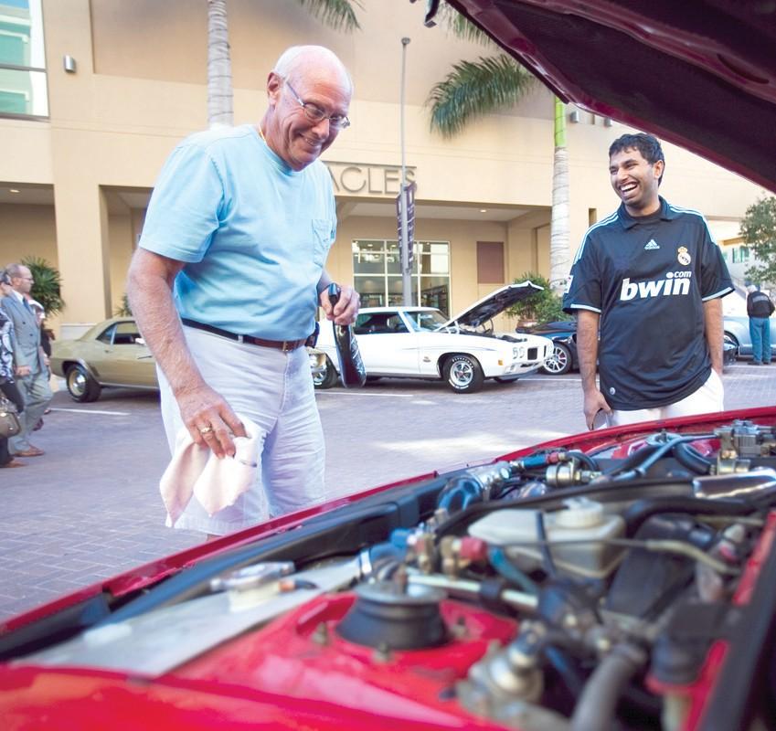 Cruising Into Mercato For A Holiday Car Show Naples Florida Weekly - Mercato car show