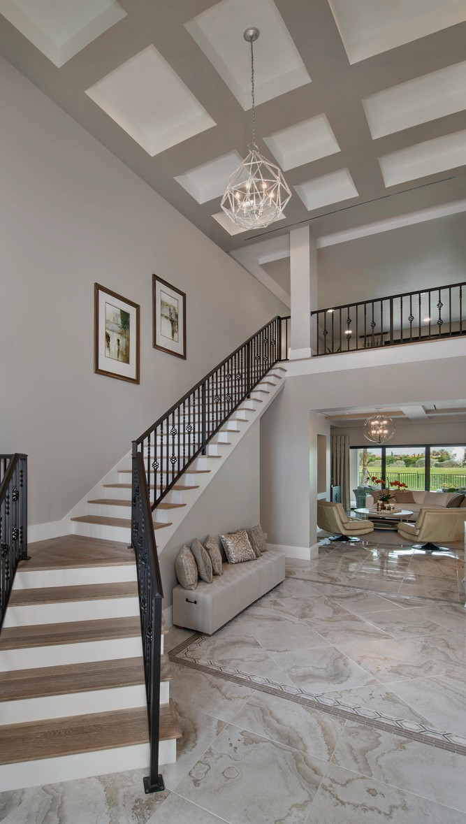 Norris Furniture & Interiors has unveiled its latest model home, the Nadia by Fox Custom Builders, at Talis Park in North Naples.