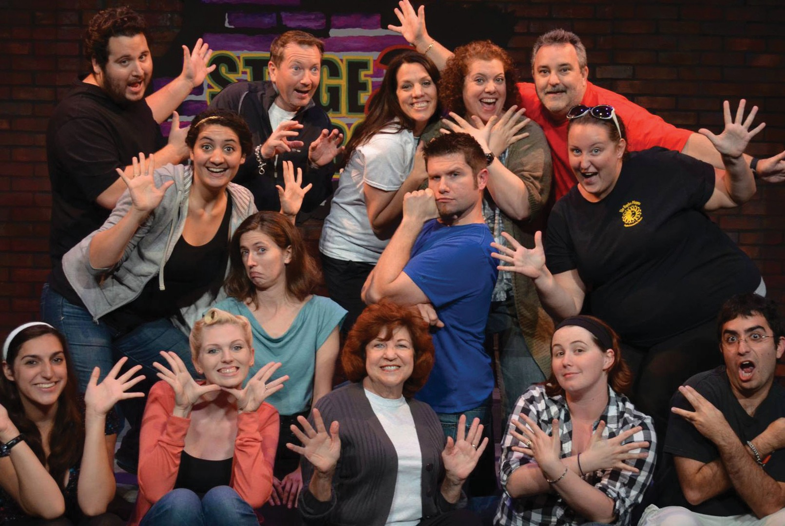 Get in on the act with an array of theater classes ...